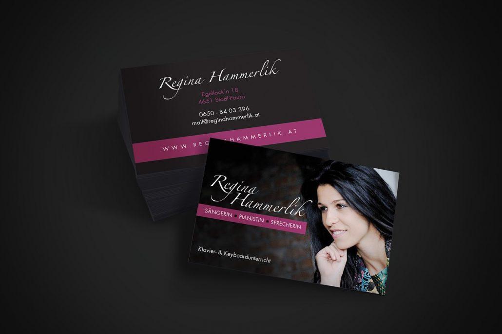 Visitenkarte Regina Hammerlik